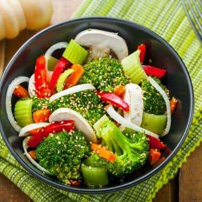 how do you add flavor to steamed vegetables