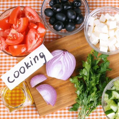 How should a beginner start cooking
