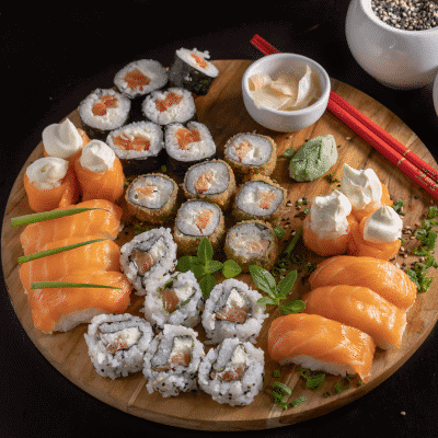 How to make home-made sushi: step-by-step