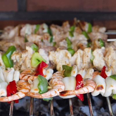 meat vs. seafood