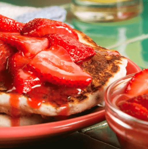 Banana Berry Pancakes
