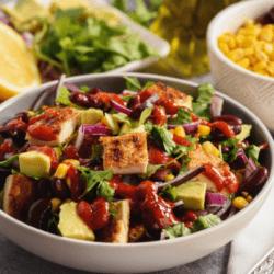 Chicken Tomatillo Salad