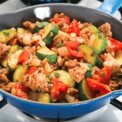 Easy Turkey Skillet Dinner