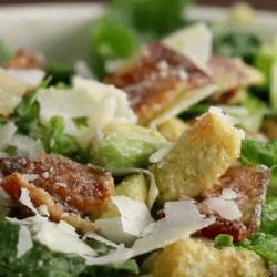 bacon advocado ceaser salad