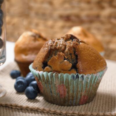 Apple blueberry cupcakes (video)