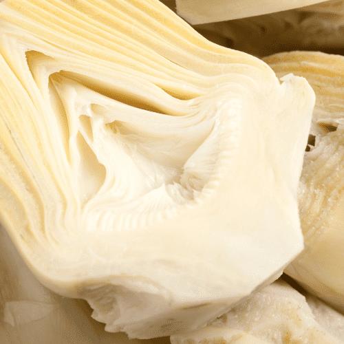 Cooked artichoke hearts