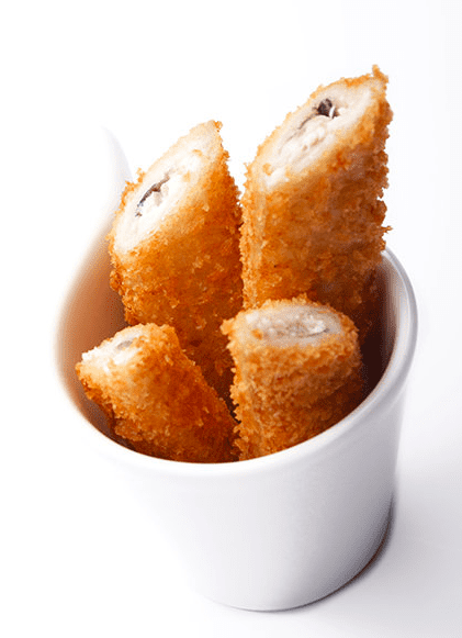 Anchovy and panko soldiers