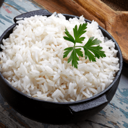 cook rice without getting it sticky and fluffy